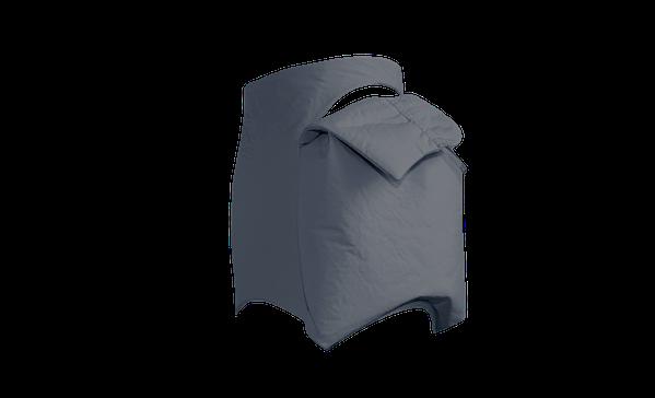 Buy Women Miniskirt Pocket Grey
