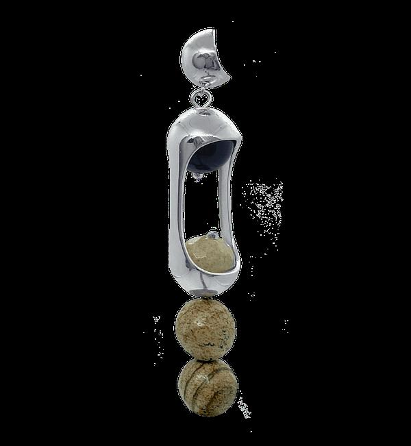 Experimental Pieces Custom Stones Earring Jaspelands