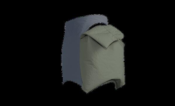 Buy Women Miniskirt Pocket Kaki Grey